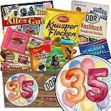 35. Geburtstagsgeschenk | Schokoladen Paket | Geschenk Ideen | Geschenke zum 35 Geburtstag Männer | Schokoladenbox