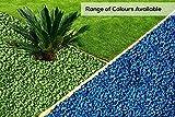 RockinColour Pietre decorative per il giardino, colore: azzurro blu