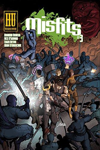 Misfits #3 (English Edition) eBook: Brandon Rhiness, Nick O ...