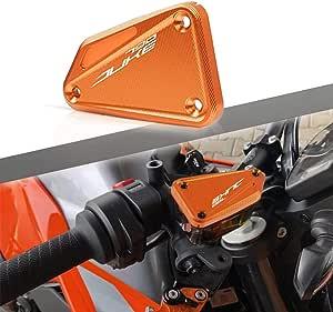 Duke 790 Vorne Bremsflüssigkeitsbehälter Deckel Für 790 Duke Orange Auto