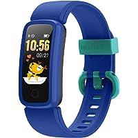 BIGGERFIVE Fitness Armband Uhr für Kinder Mädchen Junge Teenager, Fitness Tracker Smartwatch mit Schrittzähler Pulsuhr…