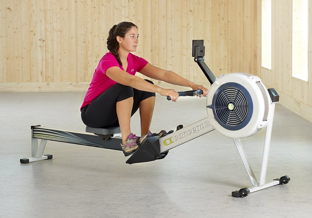 61VIcOyAJLL - Concept 2 Model D Indoor Rower with PM5 Monitor