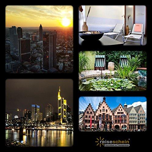 Schein Bon d'achat de voyage 3jours Visites dans Frankfurt/Main dans hôtel 4* BEST Western Macra thermique