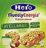 Barrita Hero Muesly Energía Avellanas 25g 6u - [pack de 5]
