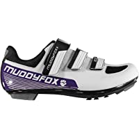 Muddyfox Womens RBS100 Cycling Shoes Road Mesh Panels Touch