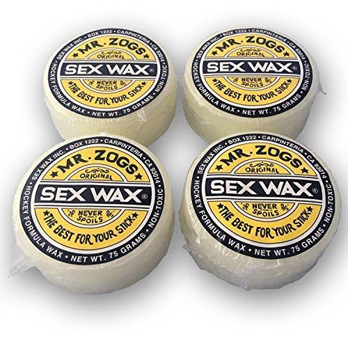 Sex Wax Mr. zog 's Hockeyschläger Wachs, 4Stück (Duft Wahl), Coconut -
