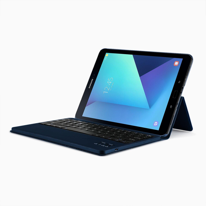 samsung galaxy tab s3 9 7 tablet keyboard case qwerty ibetter samsung blue ebay. Black Bedroom Furniture Sets. Home Design Ideas