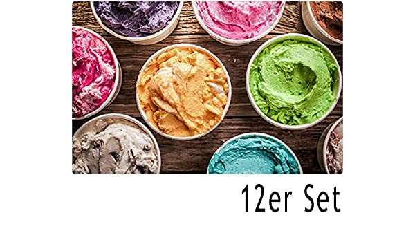 Tischset Platzset MOTIV Sommer Eis /& Strand 1 Stk abwaschbar 43,5x28,5 cm