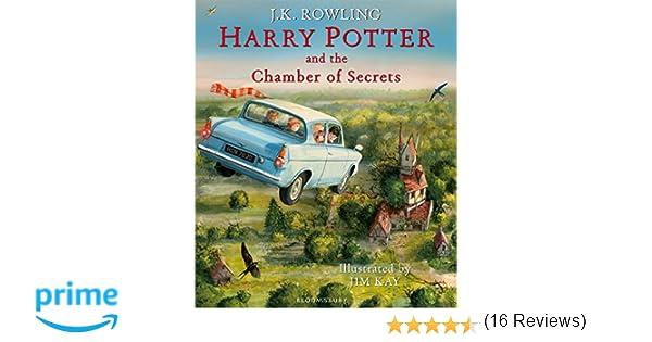 Harry Potter Camera Segreti Illustrato : Harry potter and the chamber of secrets illustrated edition