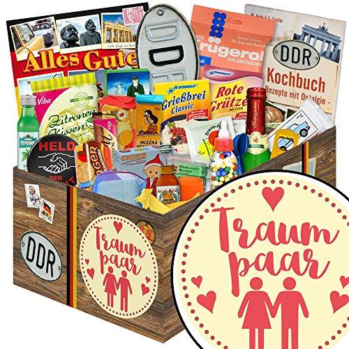 Traumpaar   24er Allerlei   Geschenk Set   Traumpaar   DDR Paket   Geburtstagsgeschenke Ideen   INKL DDR Kochbuch