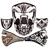#5: Ocamo 2 In 1 Reversible Classic Personality Seal Ghost Face Neoprene Full Face Mask Windproof Breathable Headwear for Outdoor Sport Ski Skiing Snowmobile Snowboard