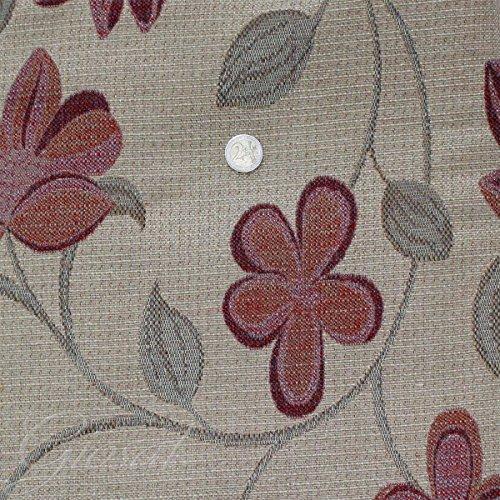 tessuto-arredo-fantasia-fiorellino-tappezzeria-copritavola-divano-cuscino-giosal-rosso-al-metro