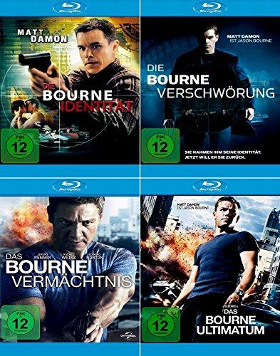 Die komplette Bourne Collection - Identität + Vermächtnis + Ultimatum + Verschwörung (4-Blu-ray) Kein Box-Set (Blu-ray Das Ultimatum Bourne)
