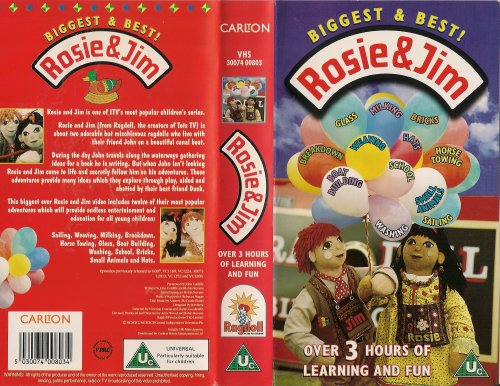 Rosie & Jim - Biggest & Best [VHS]