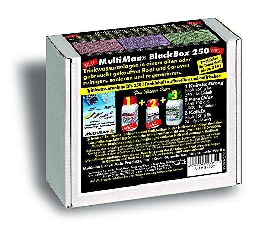 MultiMan BlackBox zur Reinigung von Trinkwasseranlagen (Sanierung und Reinigung), Tankgröße:Tanks ab 75 -250 l