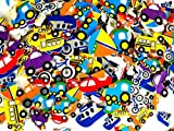 #9: Playscene 26 230153 3B Playscene Self Adhesive Foam Craft Stickers (Transportation - 500 Pack)