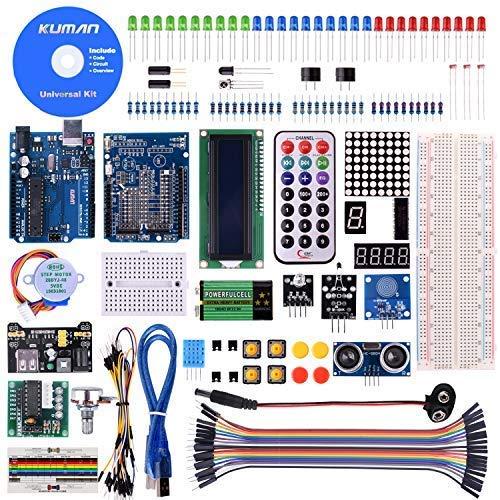 Kuman Más Completo Avanzado Mega Starter Kit Arduino