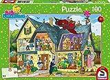 Schmidt Spiele 56151 - Bibi Blocksberg, Bei Blocksbergs ist was los!, 100 Teile, Klassische Puzzle