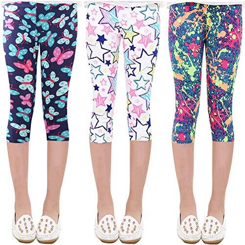 Oyoden Pantalones Leggings Niñas Chicas Elásticos