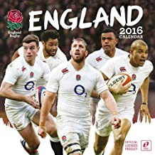 The Official England Rugby Union 2016 A3 Calendar