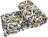 #3: Handcraftd AC Quilt/Blanket - Floral Soft Designer Double Bed - Multicolor
