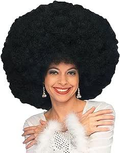 Adulto uomo donna mega di grandi dimensioni 70 S 80 S Parrucca Afro Discoteca Costume Accessorio