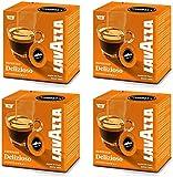 Lavazza A Modo Mio Delizioso 16 Coffee Capsules (Pack of 4)