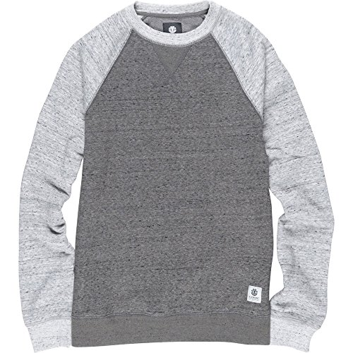 Element Meridian Block Crew Neck Charcoal