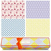 LA BELLEFÉE 16 X Scented Drawer Liners - Fragrance of Rose, Vanilla, linen, Lavender Sheets size 580 x 420 mm
