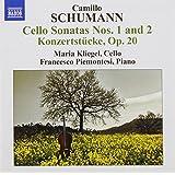 Schumann, C.: Cello Sonatas
