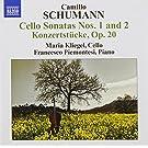 Camillo Schumann : Sonates pour violoncelle n� 1 et n� 2