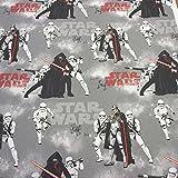 Stoff Meterware Baumwolle Star Wars Kylo Ren Awaken Jedi