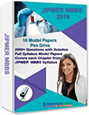 EntranceIndia JIPMER MBBS 2019 Model Papers (10 Sets) (Pen Drive)