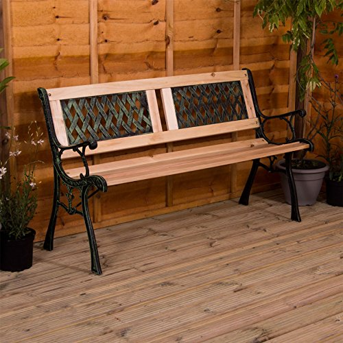 Home Garden Bench, Twin Cross St...