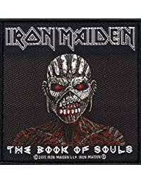 Parche para coser (10x10,5cm), diseño de Iron Maiden de The Book Of Souls