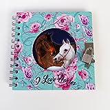 Unbekannt Pferde Horse Pony Tagebuch mit Schloss Freundebuch Poesiealbum türkis