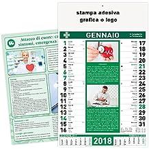 100 stock calendari 2018 olandese farmacia farmacie personalizzare logo calendario