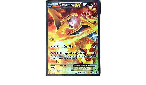 Carte Pokémon Xy121 Dracaufeu Ex 180 Pv Full Art Promo