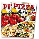 Amitola 2 x Pizza Pizzeria Poster Plakat A1 Kundenstopper