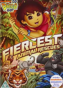Go Diego Go: Fiercest Animal Rescue [DVD]