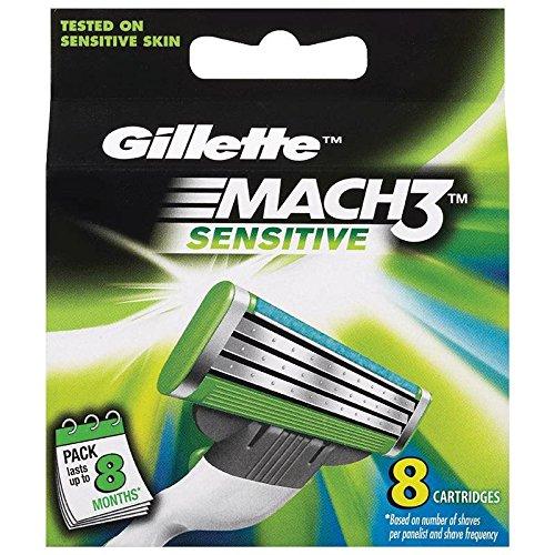 gillette-mach3-sensitive-lame-per-rasoio-8-pezzi