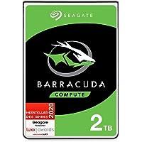 Seagate BarraCuda 2 TB interne Festplatte HDD – 2,5 Zoll SATA 6 Gb/s 5400 U/min 128 MB Cache für Computer-Desktop-PC…