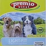 Premio Vital 15 kg Light-Fit | glutenfrei | mit Reis| Fleischanteil nur Geflügel | Hunde Trockenfutter