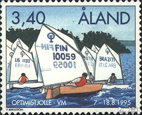 Prophila Collection Finnland - Aland 104 (kompl.Ausg.) 1995 Optimist-Regatta (Briefmarken für Sammler) Wassersportarten