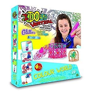I DO 3D - Vertical Set 4 boligrafos Color World (Giochi Preziosi D3D19000)