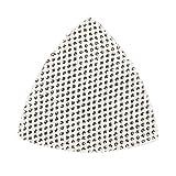 Silverline 986624105mm 4x 40g/4X 80g/2x 120g Gancio e Loop Mesh Triangolo Fogli (Confezione da 10)