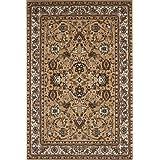 Teppiche Lalee OHG Sahara 117 - Alfombra, color beige