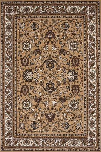 Lalee  347182381  Klassischer Teppich / Orientalisch / Beige / TOP Preis / Grösse : 120 x 170 cm Grün Schwarz Beige-teppich