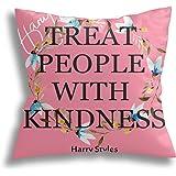 Harry Styles Funda de Almohada Decoración Doble Cara Impresión Funda de Almohada Decoración del Hogar Funda de Almohada Funda