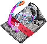 Aqua Lung Sport La Costa Junior Pro Dive Kinder 2er Set (Tauchmaske & Schnorchel) inkl. Beutel -...